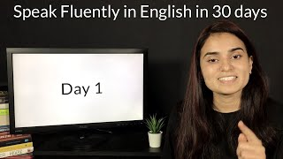 Speak Fluently in English in 30 days - Day 1 - Learn With Sam And Ash