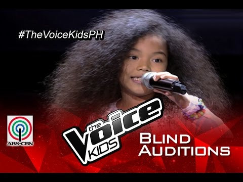 """The Voice Kids Philippines 2015 Blind Audition: """"Better Days"""" By Precious"""