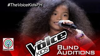 "The Voice Kids Philippines 2015 Blind Audition: ""Better Days"" By Precious"