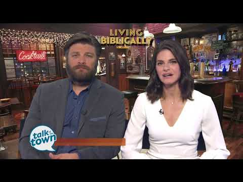 """Preview of New CBS Comedy """"Living Biblically"""""""