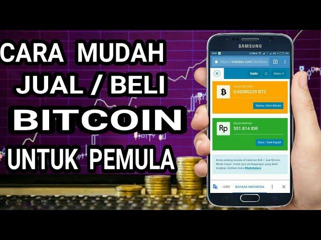 jual beli bitcoin pemula