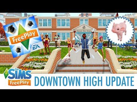 TEACHER'S PET QUEST WALKTHROUGH | The Sims FreePlay (Downtown High Update)