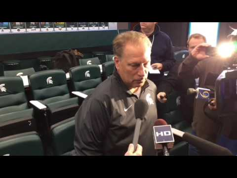 Tom Izzo discusses the opening days of Michigan State