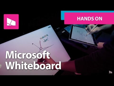 Microsoft Whiteboard - First Look and Hands On