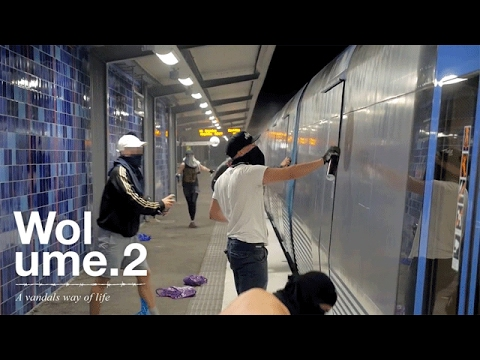 Wolume 2 A Vandals Way Of Life Sweden 2014 Graffiti Movie