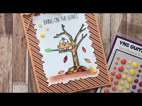 How To Make A Fall Scene Card | Your Next Stamp | Stamp Create Repeat