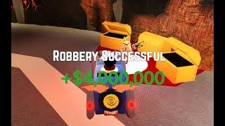 Hitting 4M Cash On Jailbreak!!!
