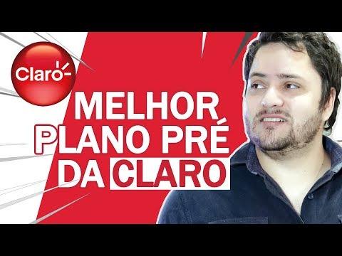 O MELHOR plano PRÉ da Claro   TODAS as opções CLARO PREZÃO
