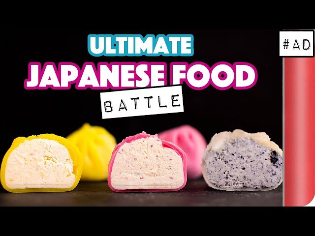 The ULTIMATE JAPANESE FOOD BATTLE
