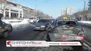 Երևանում բախվել են Toyota Land Cruiser Prado ն և Opel ը