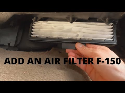 1999 F150 Cabin Air Filter Modification Youtube