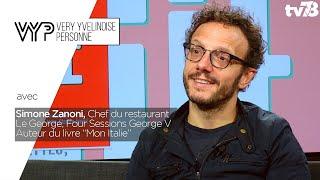 """Simone Zanoni Chef du restaurant Le George, Four Sessions George V / Auteur du livre """"Mon Italie"""""""