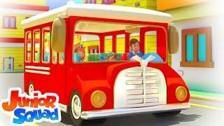 Wheels On The Bus | Bus Song | Nursery Rhymes & Kids Songs For Children | Baby Rhyme