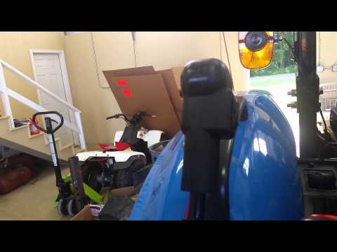 Grapple rake and third function valve on LS XR4046 - YouTube