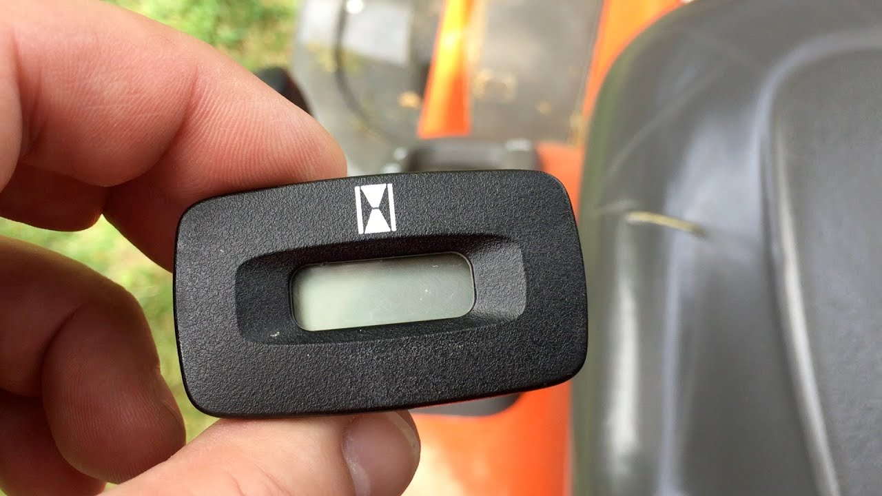 How To Read Cub Cadet Hour Meter