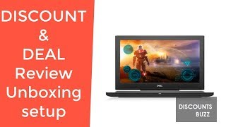 Dell Inspiron G5 Gaming Laptop 15.6 G5587-5859BLK-PUS REVIEW DEAL DISCOUNT SALE UNBOXING SETUP