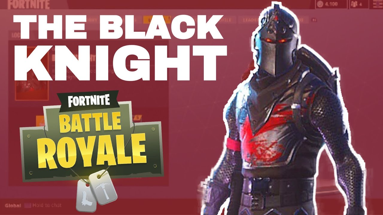 Fortnite Battle Royale The Legendary Black Knight Dancing With
