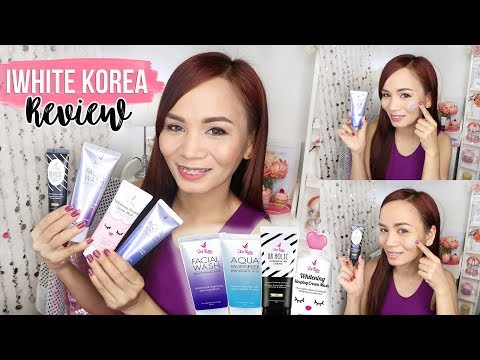 iWHITE KOREA PRODUCTS REVIEW (Acne Prone Skin)
