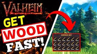 Valheim - How T๐ Get Wood FAST! Fine + Core Wood NO AXE!
