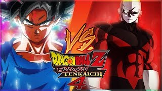 [FR] Dragon Ball Z budokai Tenkaichi 4 Episode 11 - GOKU ULTRA INSTINCT VS JIREN | Gameplay Francais