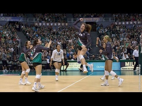 Rainbow Wahine Volleyball 2015 - #16 Hawaii Vs #2 Florida