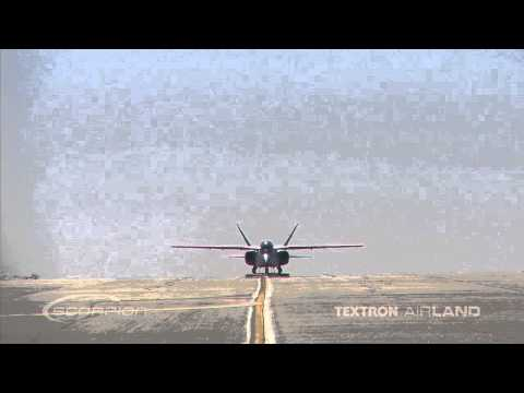 Scorpion Jet Straight On Video Shot