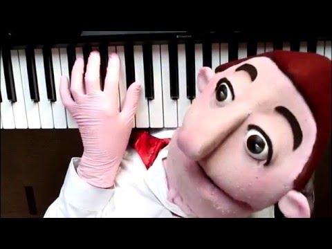 Piano lesson for pre school  young children. Lesson 1