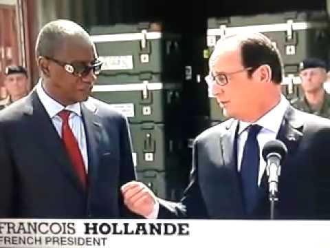 Hollande in Guinea | French president begins africa trip in ebola hit country