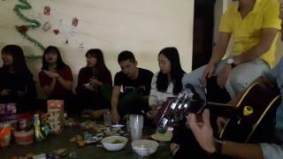 Selfie My Xmas guitar-Merry Christmas - Team VuLaChi - VMMU Guitar Club