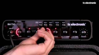 TC Electronic RH750 Tone Control Section