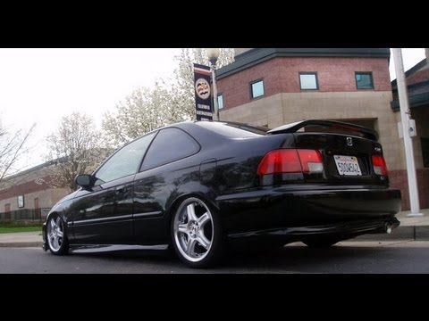 jay 39 s honda civic 1998 ex coupe youtube. Black Bedroom Furniture Sets. Home Design Ideas