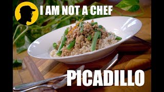 How to cook Picadillo - I AM NOT A CHEF! (episode1)