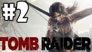 """Tomb Raider 2013 Walkthrough: Part 2 """"On the Hunt"""" (XBOX 360/PS3/PC/GAMEPLAY)"""