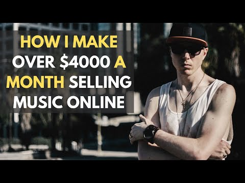 How I Make Over $4000 a Month Selling Music Online: This Is Not a Get Quick Rich Course