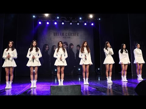 Dreamcatcher(드림캐쳐) 'Emotion'(소원 하나) Stage Showcase (악몽, 惡夢, Nightmare, Chase Me) [통통영상]