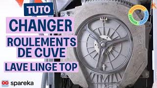 Comment changer le roulement palier du tambour de votre lave-linge ?