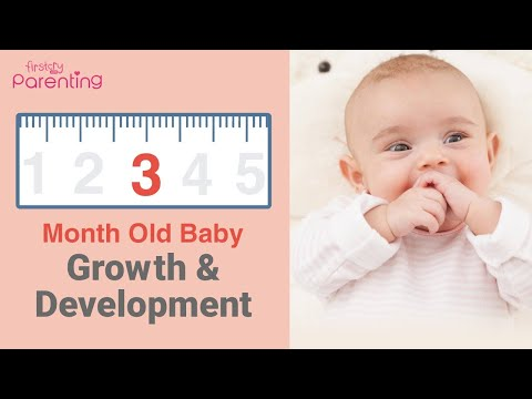 Your 3 Month Old Baby's Growth & Development