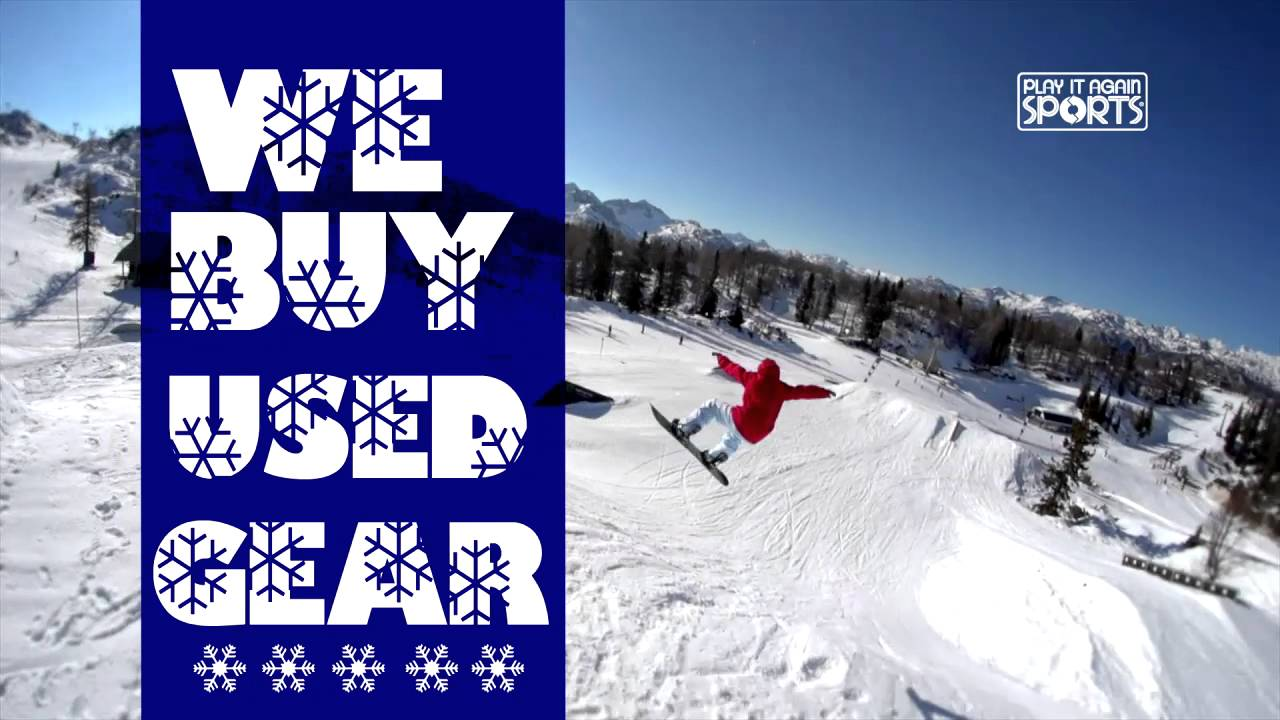 We Buy Used Snowboards | Play it Again Sports - YouTube