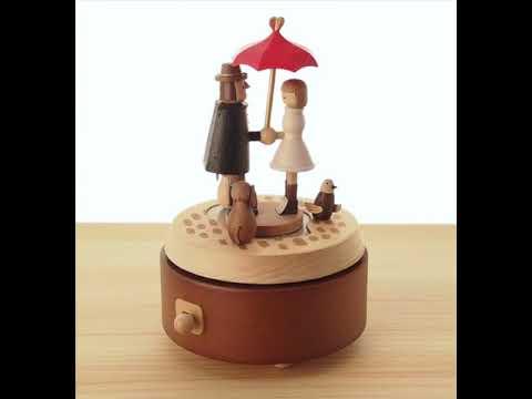 Wooderful Life Love Umbrella Musical Box