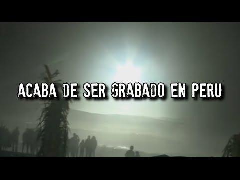 Acaba de ser grabado en Perú   Grabación Real