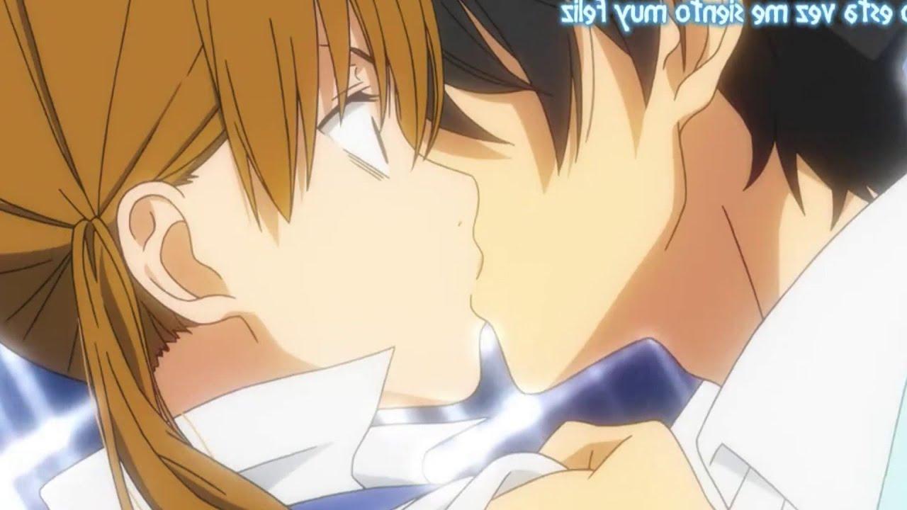 Tonari no Kaibutsu-kun   Chapter 1   Haru and Shizuku Kiss Scene