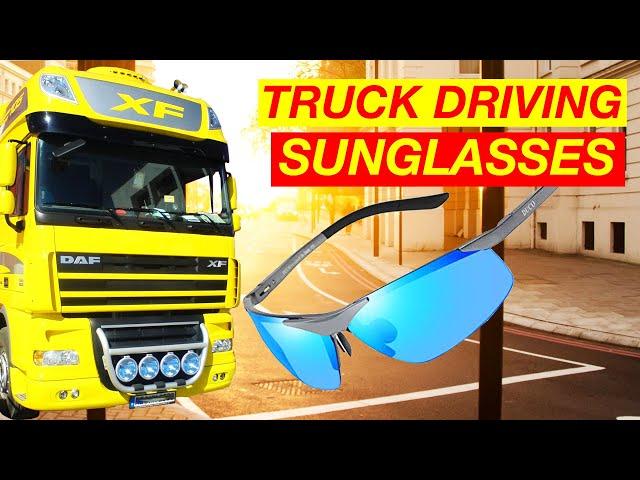 British Trucking Driving Sunglasses for Truck Drivers