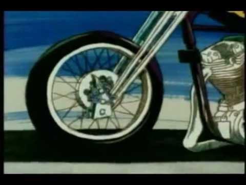 Красная плесень мотоциклист видео от SER 7