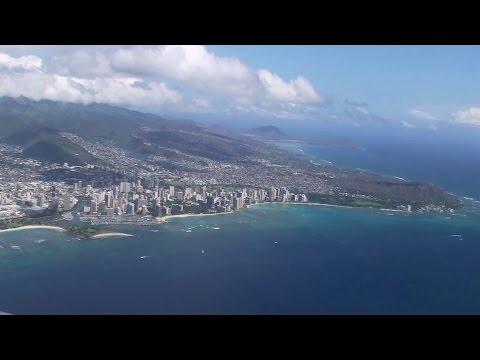 イノウエ (旧ホノルル) 空港離陸、帰りたくないよ~!: Take off Inouye International Airport. / ぶらり旅ハワイ