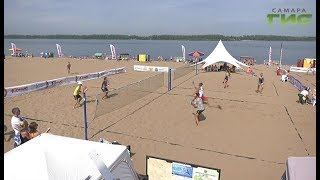 """В Самаре прошел фестиваль пляжных видов спорта """"Самара Comus Fest"""""""