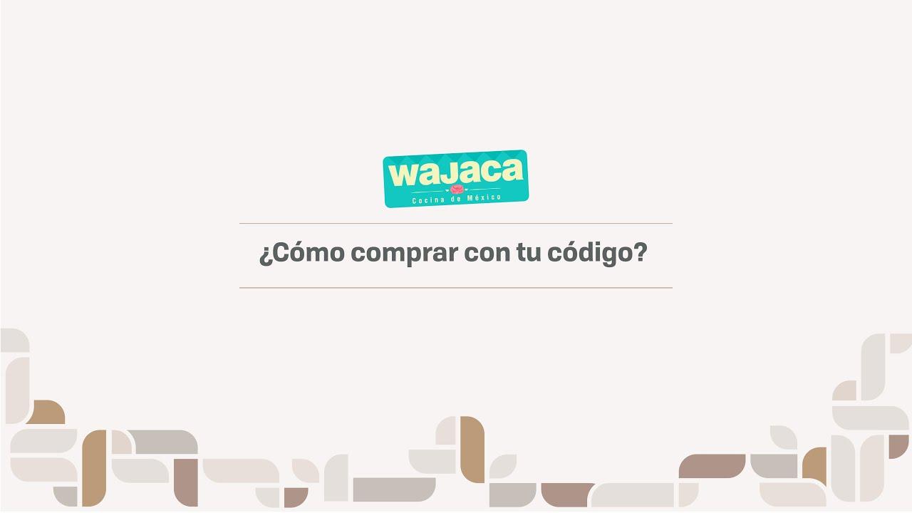 ¿Cómo comprar desde el celular con tu código Juntos en Wajaca?