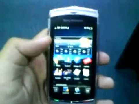 Sony Ericsson Vivaz Android Using SPB Mobile Shell 3.7 Software