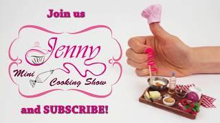 New 2020 Jenny S Mini Cooking Show Channel Trailer Mini Food Mini Cake Diy Miniature Youtube