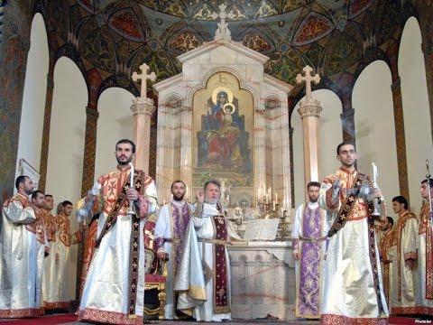 Армянская Литургия с пояснениями