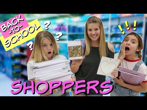 10 TYPES OF BACK TO SCHOOL SHOPPERS    CAN YOU RELATE    FT SOPHIE MICHELLE SAYS    Taylor & Vanessa